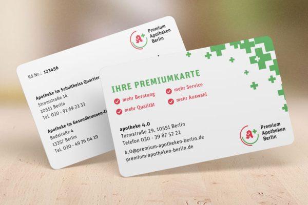 Premiumkarte Bonussystem